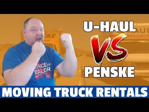 U Haul Vs Penske Moving Truck Rentals