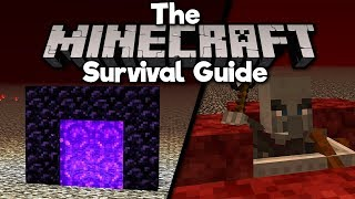 How To Portal To The Nether Roof! ▫ The Minecraft Survival Guide (Tutorial Let's Play)[Part 244]