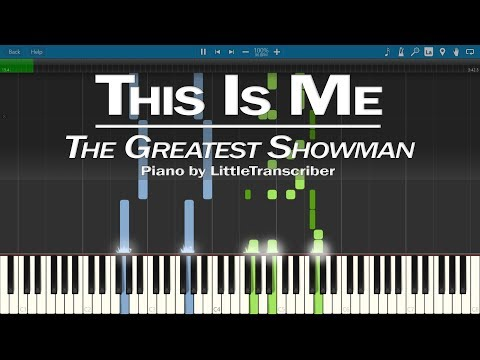 The Greatest Showman - This Is Me (Piano Cover) by LittleTranscriber