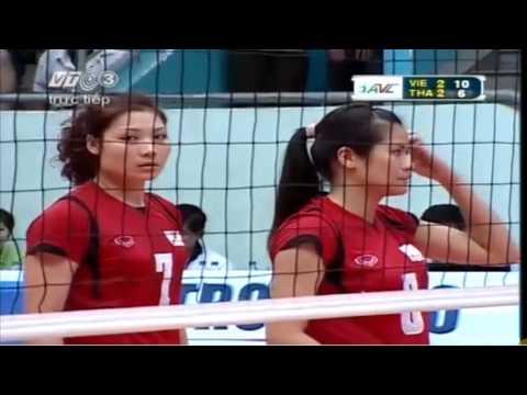 Vietnam vs Thailand  Set 5 - 2013 Asian Women