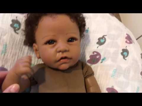 Ashton Drake Silicone Baby Tasha Box Opening! She's Here!!