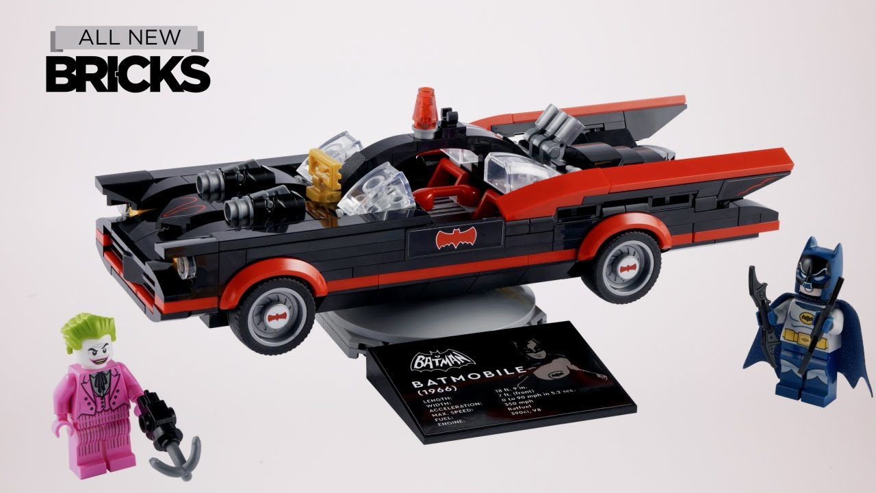 Lego DC 76188 Batman Classic TV Series Batmobile Speed Build