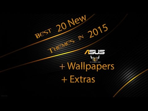 Best themes in 2015 for windows 8.1 with wallpapers and extras