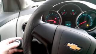 Переделанная кнопка включения ПТФ Chevrolet Cruze