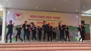 """THCS Pascal - Nhảy:""""Bống bống bang bang"""" - 01-08-2016"""