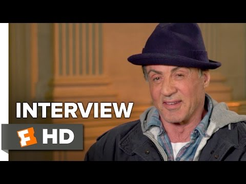 Creed Interview - Sylvester Stallone (2015) - Drama HD
