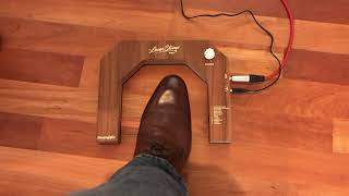 Laser Stomp Pro, lasergesteuerte digitale Stomp Box mit 12 Sounds von Drumport StompTech