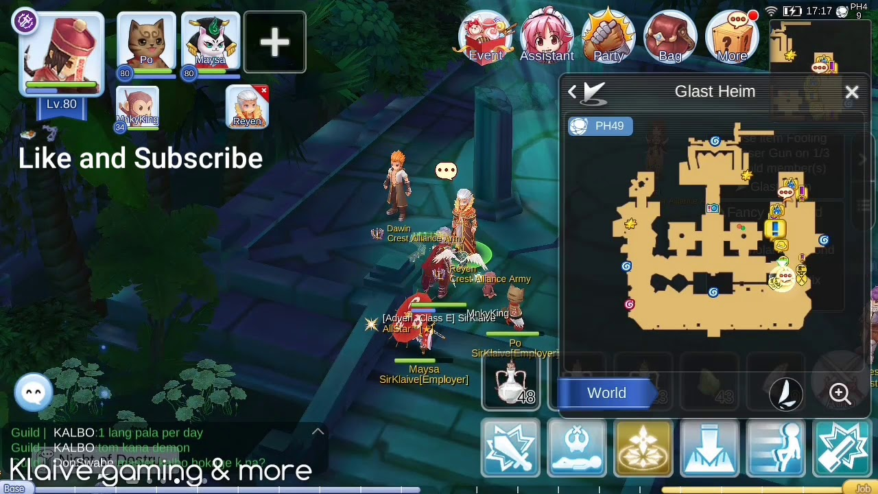 Hair Style Quest Ragnarok Mobile: Hermiz's Crown Secret Quest (Glast Heim)