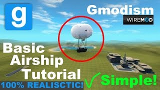 [Tutorial] Garry's Mod Wire Airship (NO HOVERBALLS) ✔