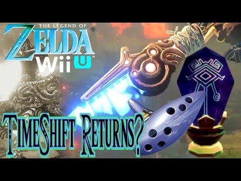 Timeshift Stone Technology In Zelda Wii U?