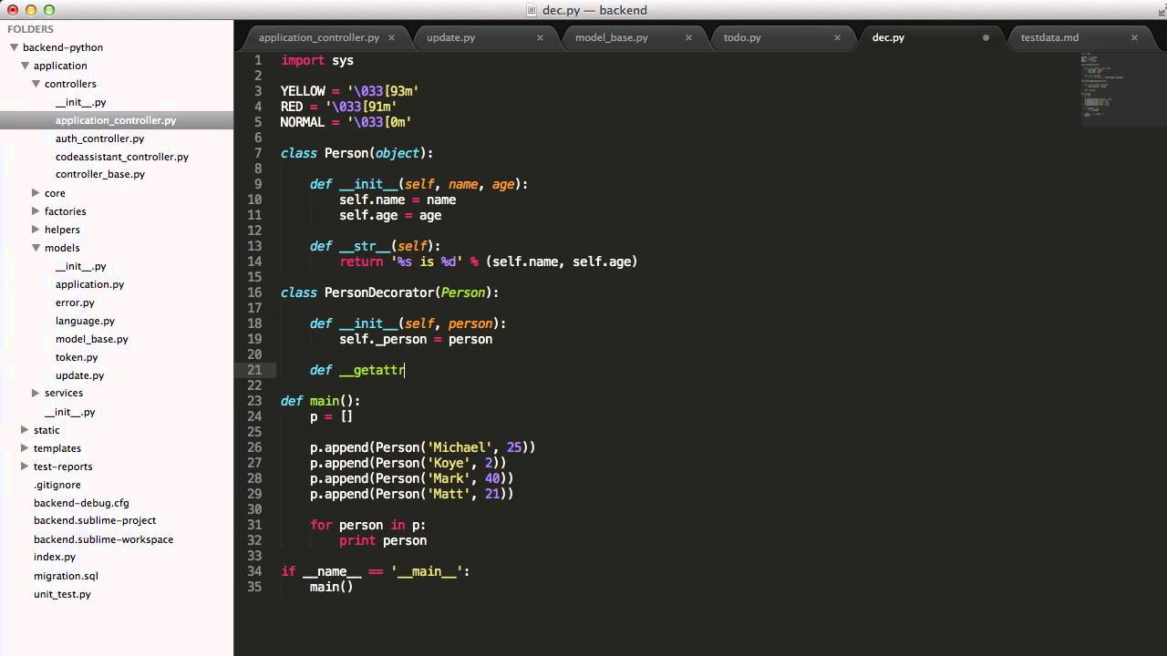 Implement the decorator design pattern in python youtube for Decorator python