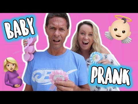 MOM PRANKS DAD THAT SHE'S PREGNANT!!! Meet the Merwins