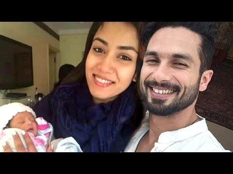 Shahid Kapoor Meera Rajput Blessed With CUTE Baby Girl