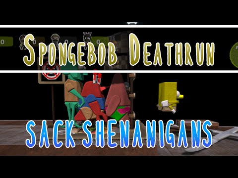[47] Sack Shenanigans (Little Big Planet 3 PS4 w/ GaLm and the Derp Crew) Spongebob Deathrun