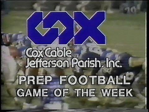 Archbishop Shaw vs. Jesuit Blue Jays 11/02/90 New Orleans, La. Cox Prep Football Game Of The Week