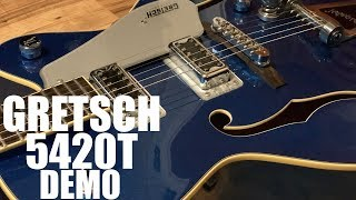 Gretsch G5420T Electromatic Demo