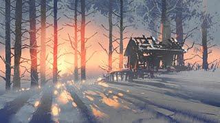 Musica Muy Relajante | Musica de Fondo Instrumental para Relajarse | Musica con Paisajes de Nieve