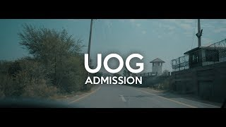 How To Get Admission ( UOG )