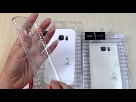 Ốp lưng Samsung Galaxy S7/ S7 Edge Hoco dẻo trong  suốt tại CongNgheNhat.vn