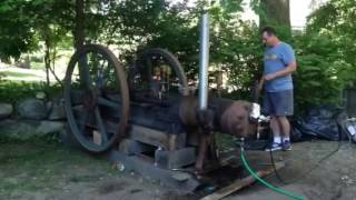 Half Breed Oil Field Engine. First Run