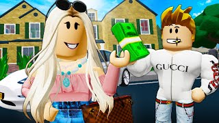 He Found Out His Girlfriend Was A GOLD DIGGER! ( A Roblox Movie)