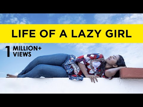 Life Of A Lazy Girl | Awesome Machi | English Subtitles