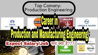 Careers in Production & Manufacturing Engineering| Career-Jobs-Top Companies-Expected Salary |