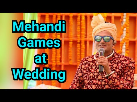 Guess The Questions| Mehandi Function Games  | Mehendi Ceremony Ideas | Anchor Girish Sharma