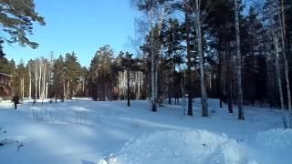 Пионерский лагерь в феврале - никого - можно снимать фильм ужасов )))