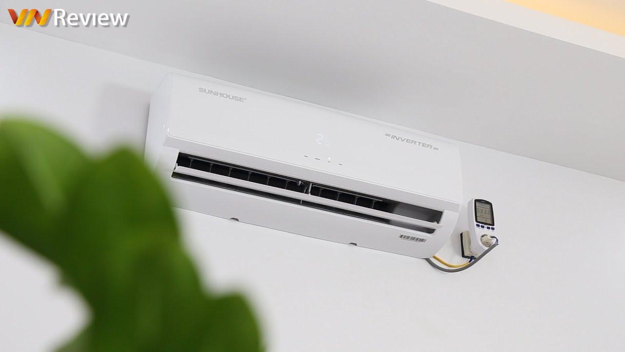 ✅VnReview – Đánh giá điều hòa Sunhouse SHR-AW09IC610 Inverter: làm lạnh và lọc bụi hiệu quả, giá mềm