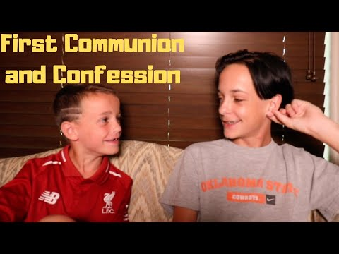 First Confession AND First Communion! (With Jarrell)