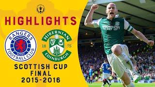 Rangers 2-3 Hibernian | William Hill Scottish Cup Final 2016