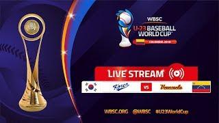 Korea v Venezuela – U-23 Baseball World Cup 2018 thumbnail