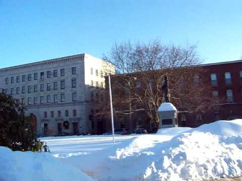 Downtown Concord, New Hampshire | Gold Dome