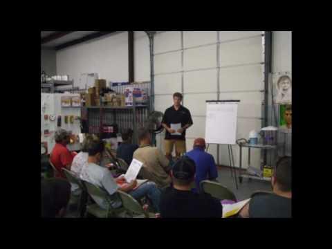 Andy Stapp Demonstrates Airbushing Using Matrix FX