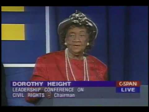 Dorothy Height at the 2997 HRC National Dinner