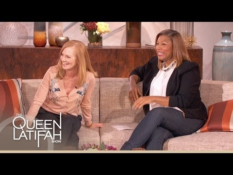 Marg Helgenberger on The Queen Latifah Show