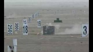 Russian Heavy Machine Gun Firing