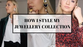 HOW I STYLE MY JEWELLERY   JEWELLERY COLLECTION & TRY-ON