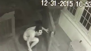 10 Weirdest Things Caught On CCTV