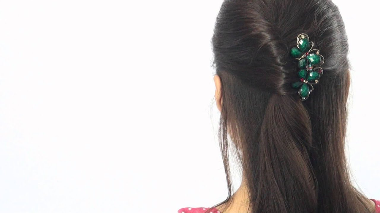 Easy HairStyle Tutorial - Hair Comb - YouTube