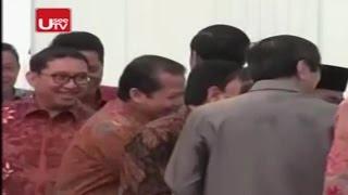 Begini Manisnya Muka Fadlizon Saat Bertemu Jokowi Bahas Tax Amnesty Yang Diprotes