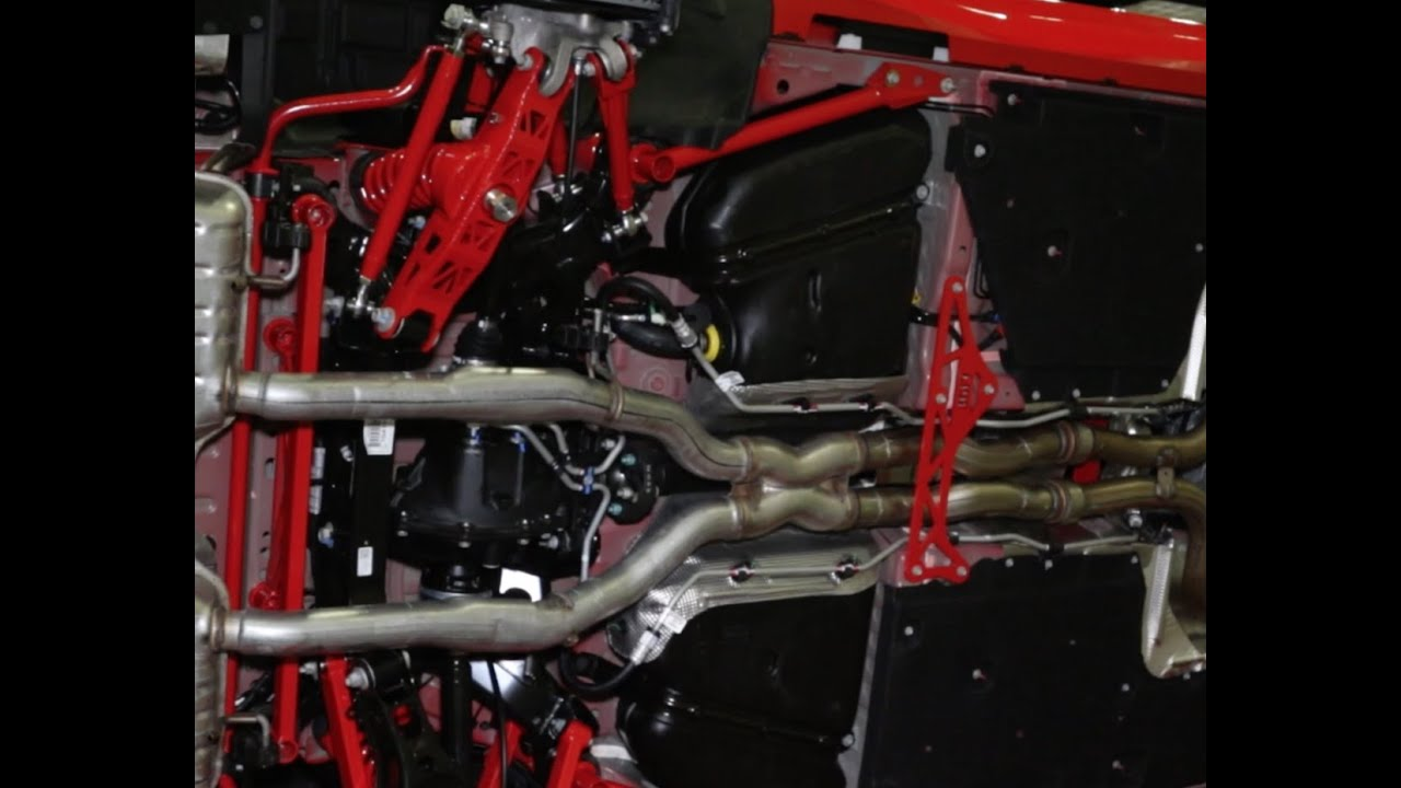 PRI 2015 - BMR Suspension Displays Its Components On A ...