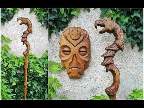 Crafting A Dragon Priest Staff Out Of Wood