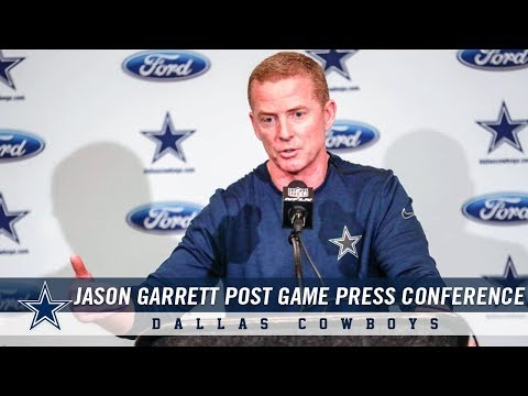 Head Coach Jason Garrett Post Game Press Conference Week 15 | Dallas Cowboys 2018
