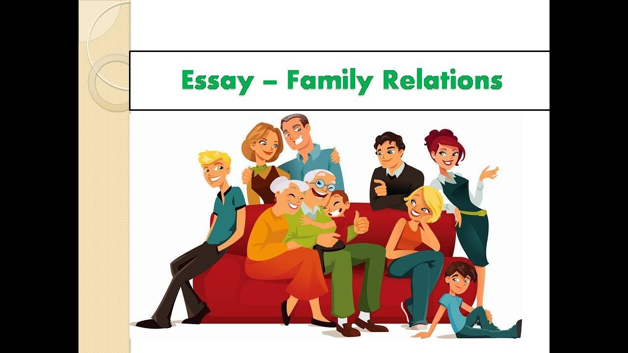 Essay writing on family