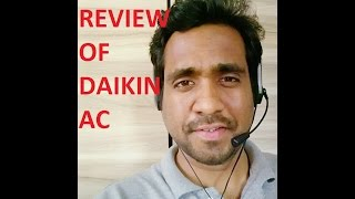 Daikin 5 Star Air Conditioner Review, (Daikin Model FTF35)