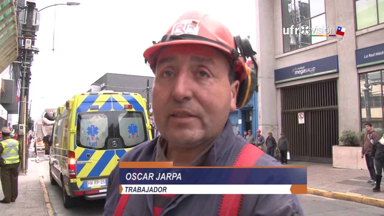 Trabajador se electrocuta en obra de construcción en Temuco ...