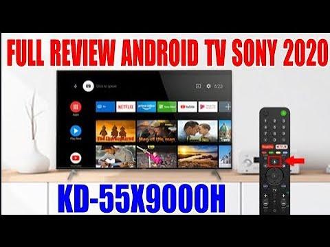 Full Review Androi TV Sony KD-55X9000H 9.0 55inch UHD 4K 2020, đẹp không tì vết, full chức năng