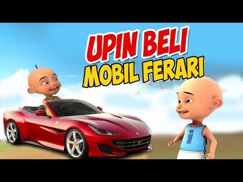 Upin ipin Beli Mobil Ferrari Mewah , ipin Senang ! GTA Lucu